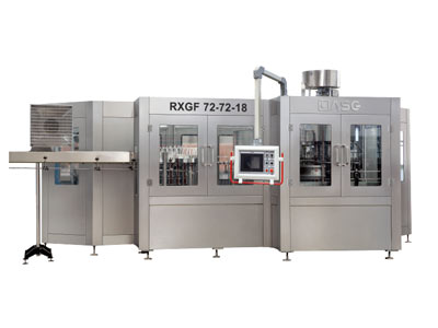 Automatic 4 in 1 juice filling machine 01