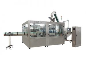 Bottled juice filling machine 01